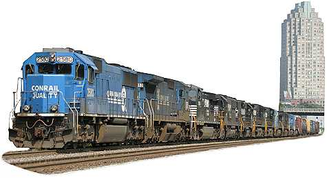 NS 2580, Train 349, Boylan, NC,  BLET Engineer RI Harris, July 2003